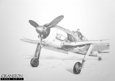 Fw190A-4, Winter 1944 by Ivan Berryman.