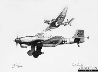 Stuka - Tribute to Hans Rudel by Ivan Berryman. (P)