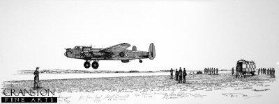 Lancaster Arrival by Graeme Lothian. (P)