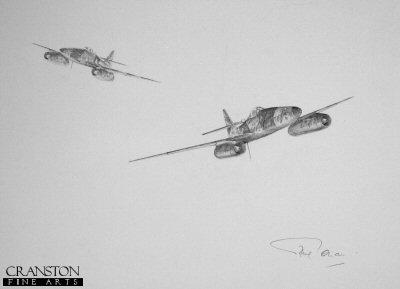 Messerschmitt 262 by Graeme Lothian. (P)