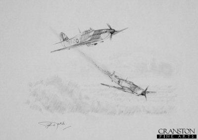 Hawker Hurricane - War Horse by Graeme Lothian. (P)