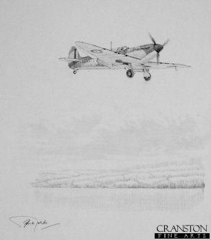Supermarine Spitfire - Job Well Done by Graeme Lothian. (P)