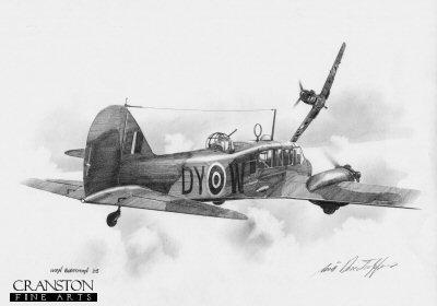 Avro Anson by Ivan Berryman. (P)