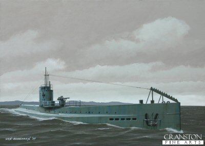 Kapitanleutnant Lothar von Arnauld de la Periere, U-35 by Ivan Berryman. (P)