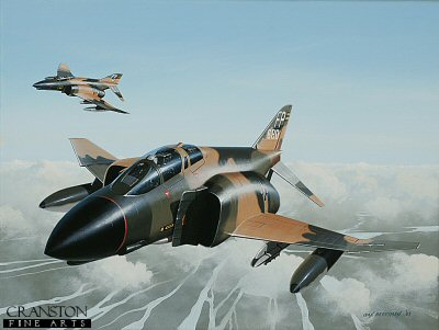Colonel Robin Olds by Ivan Berryman. (GS)