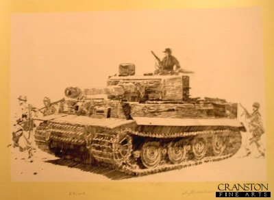 Eastern Front Tiger by Jason Askew. (P)