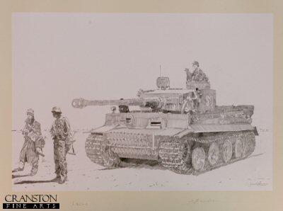 Tiger I by Jason Askew. (P)