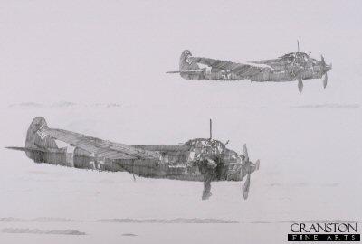 Ju88s by Jason Askew. (P)