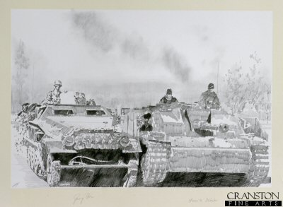 Stug and Half-Track by Jason Askew. (P)
