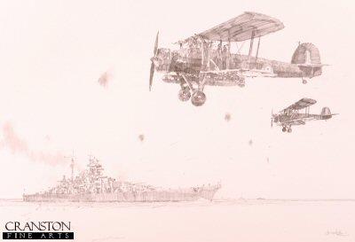 Bismarck and Swordfish by Jason Askew. (P)