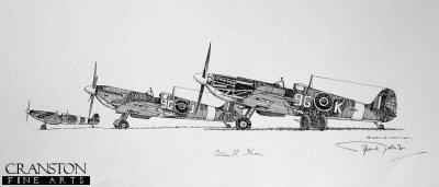 Spitfire Mk.IX - No.441 Sqn RCAF by Graeme Lothian. (P)