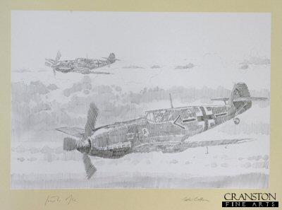 Me109 - Adolf Galland by Jason Askew. (P)