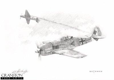 Erich Rudorffer - Eastern Front Ace by Brian Bateman. (P)