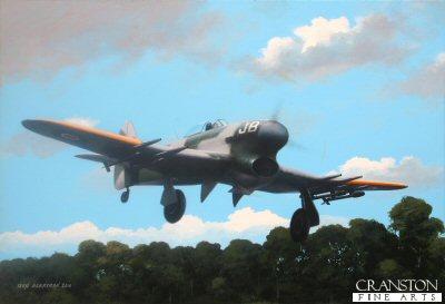 Airborne in JB1 by Ivan Berryman.