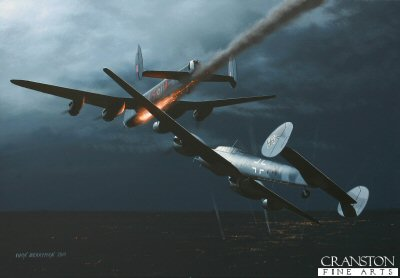 Incident over Mannheim by Ivan Berryman.