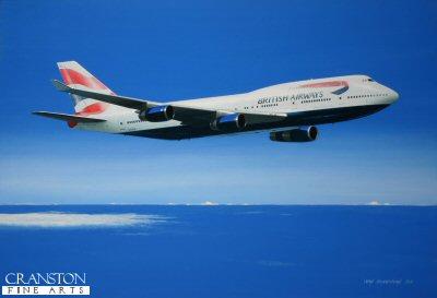 British Airways Boeing 747-400 by Ivan Berryman. (GS)