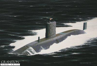 HMS Triumph by Ivan Berryman.