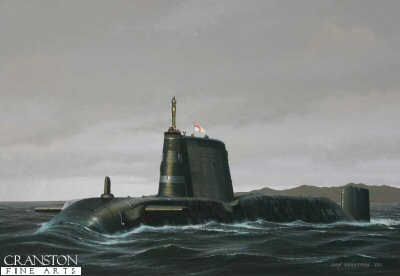 HMS Astute by Ivan Berryman. (GS)