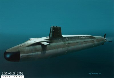 HMS Vengeance by Ivan Berryman.