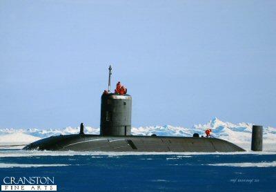 HMS Tireless by Ivan Berryman. (GS)