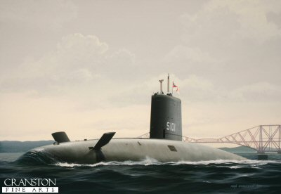 HMS Dreadnought S101 by Ivan Berryman. (GS)