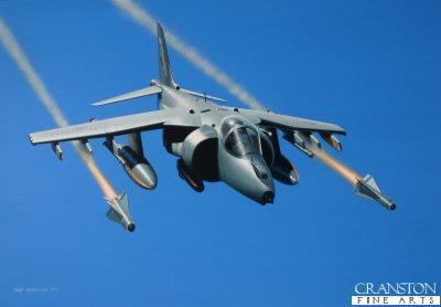 Harrier GR.9 by Ivan Berryman. (GS)