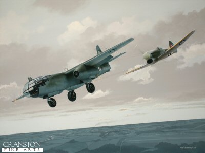 Tribute to Sqn Ldr David Fairbanks by Ivan Berryman. (GS)