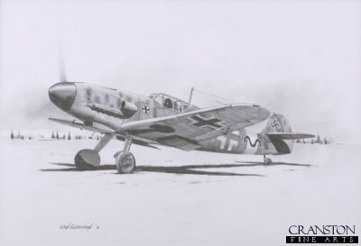 Gunther Rall - Me109 Ace by Ivan Berryman.