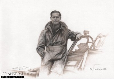 Douglas Bader by Stephen Doig. (P)