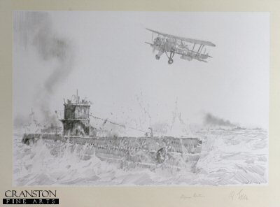 Swordfish Strike on U-451 by Jason Askew. (P)