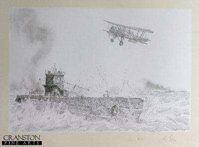 Swordfish Strike on U-451 by Jason Askew. (P)