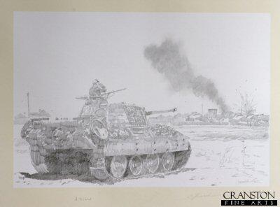 Pather Tanks at Kursk by Jason Askew. (P)