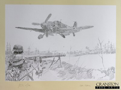 Me109s on the Russian Front by Jason Askew. (P)