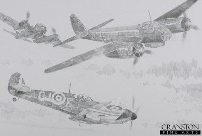 92 Squadron Intercept by Jason Askew. (P)