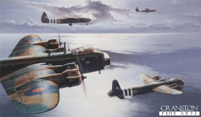 Tugs of War (Stirling & Gliders) by Ivan Berryman.