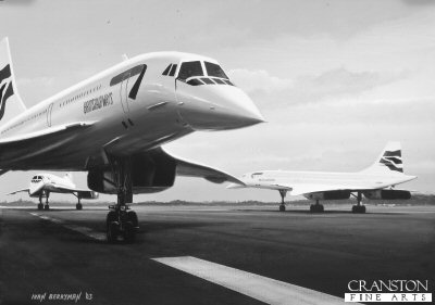 Concorde Farewell by Ivan Berryman.