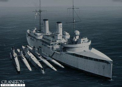 HMS Maidstone by Ivan Berryman
