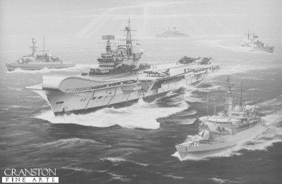 HMS Hermes by Ivan Berryman (AP)