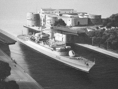 HMS Ambuscade by Ivan Berryman.