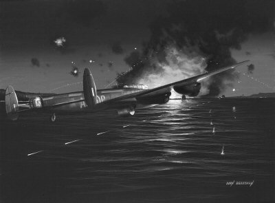 The Dambusters by Ivan Berryman.