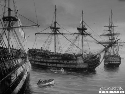 Trafalgar Aftermath by Ivan Berryman.