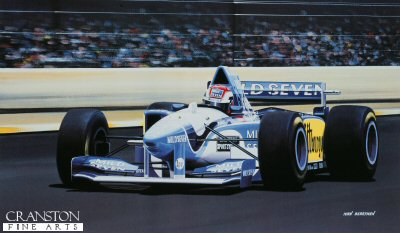 Johnny Herbert/ Benetton B.195 by Ivan Berryman