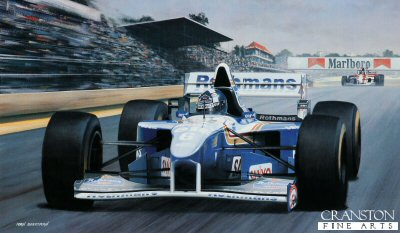David Coulthard/ Williams FW.17 by Ivan Berryman