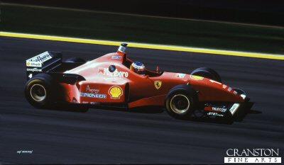 Michael Schumacher/ Ferrari F.310 by Ivan Berryman