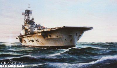 HMS Ark Royal (1970s Carrier) by Ivan Berryman