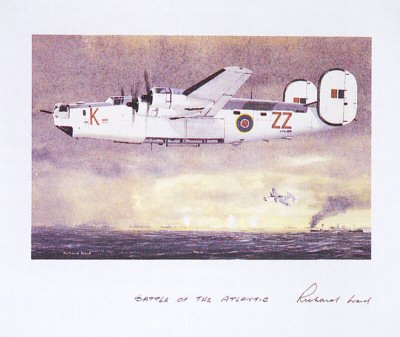 Battle of the Atlantic by Richard Ward