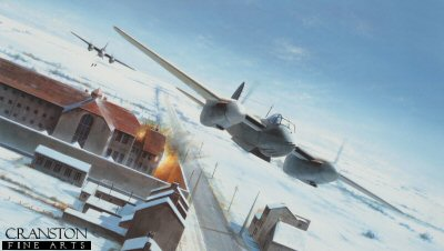 Breakout. Amiens Raid by Mosquitos by Ivan Berryman.