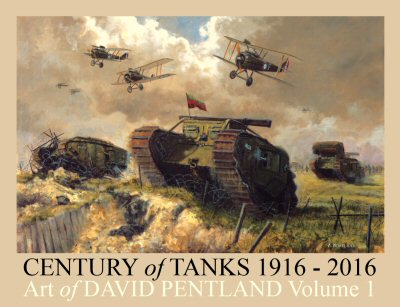 Century of Tanks 1916 - 2016 by David Pentland.