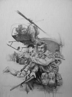 Original pencil drawing by Chris Collingwood produced on art board. (P)