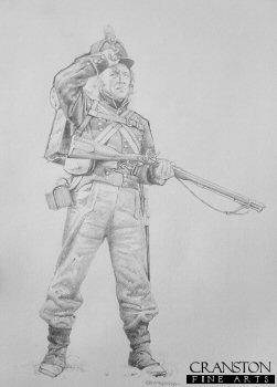 95th Rifleman by Chris Collingwood.